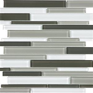 GlassTile EssentialsGlass EG-MB-Random MineralBlendRandomStrip