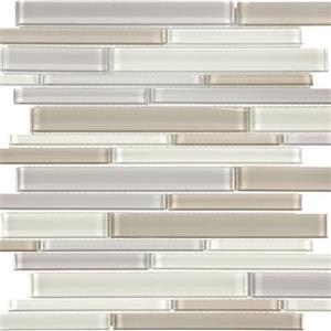 GlassTile EssentialsGlass EG-NB-Random NaturalBlendRandomStrip