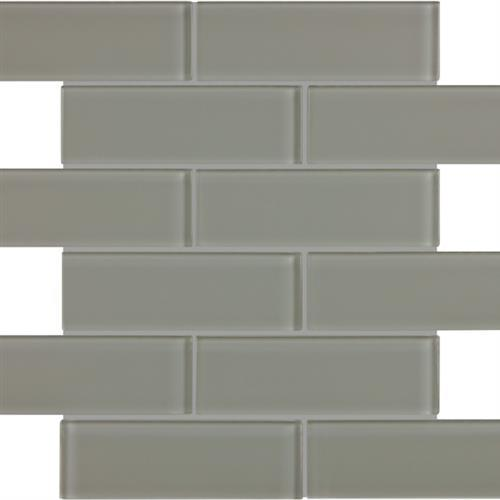 Essentials Glass Smoke - 2X6 Brick