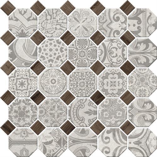 Rhetoric Aristotle White - Octagon Mosaic
