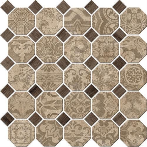 Rhetoric Philosopher Beige - Octagon Mosaic