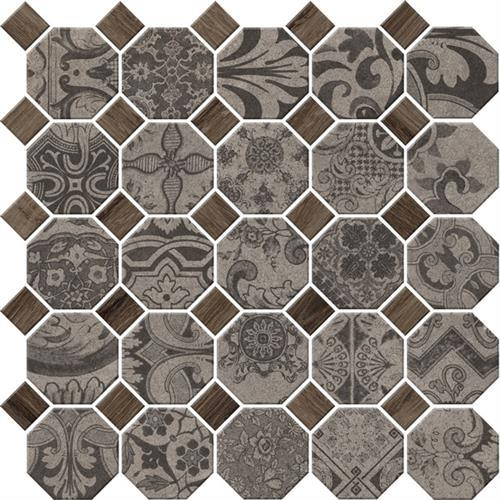 Rhetoric Composition Grey - Octagon Mosaic