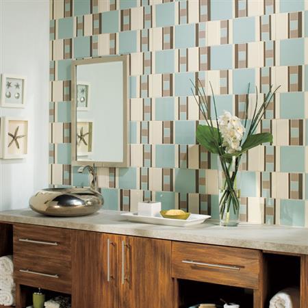 1 Sqft Daltile Keystones 1x1 Group 1 Mosaic Colorbody Porcelain Urban Putty D161