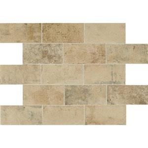 CeramicPorcelainTile Brickwork BW02481P Atrium4x8