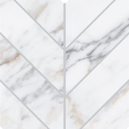 Marble Attach Lavish Diamond Carrara - 7X14 MA70