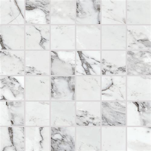 Marble Attach Lavish Pearl Arabesque - 12X12 MA72