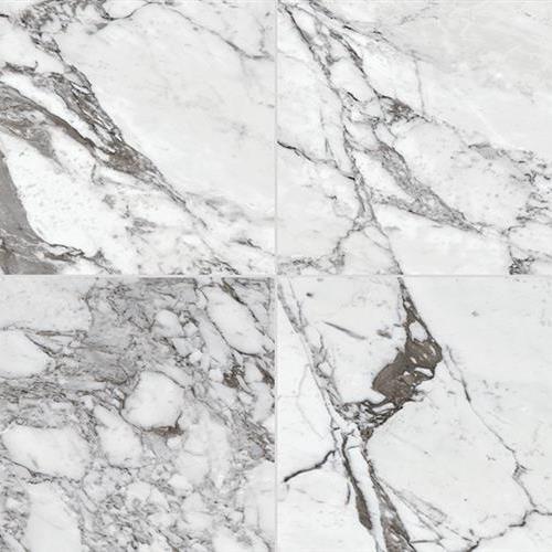 Marble Attach Lavish Pearl Arabesque - 24X24 Deco MA72
