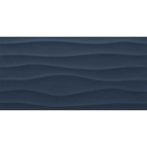 Nostalgic Blue Wave 12x24