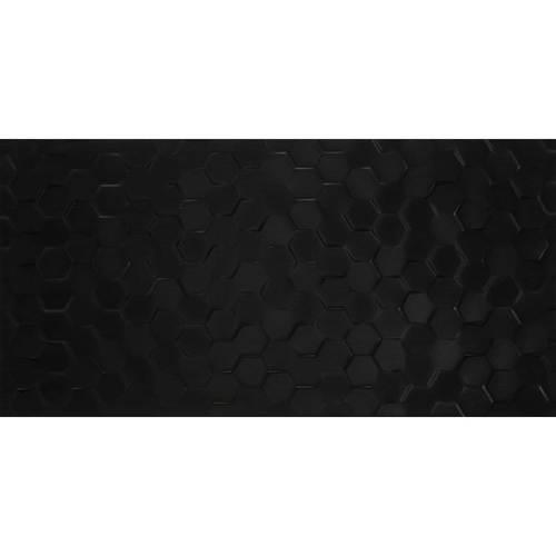 Domino Black Hexagon 12x24