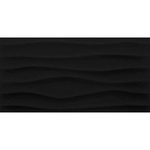 Multitude Domino Black Wave 12X24 MU20