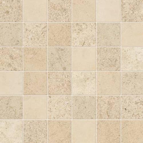 Parksville Stone Kalahari Beige Limestone - 2X2 Mosaic
