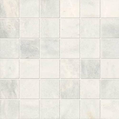 Parksville Stone Yukon White Marble - 2X2 Mosaic