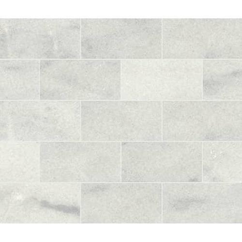 Parksville Stone Yukon White Marble - 3X6 Honed