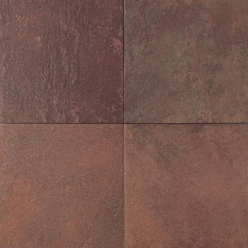 Continental Slate Indian Red 18X18 CS51