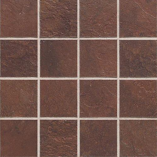 Continental Slate Indian Red  Mosaic 3X3 CS51