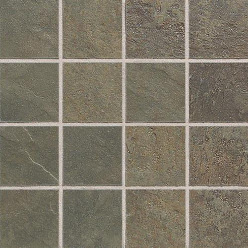 Continental Slate Brazilian Green Mosaic 3X3 CS52