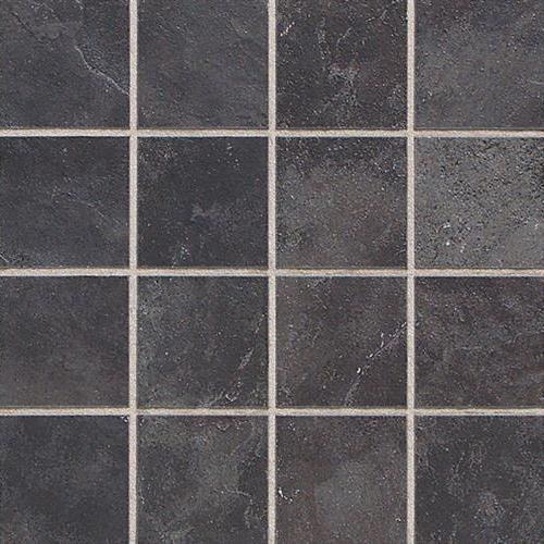 Asian Black  Mosaic 3x3