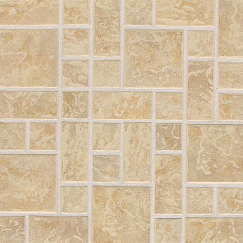 Continental Slate Persian Gold Random Block Mosaic 3X3 CS54
