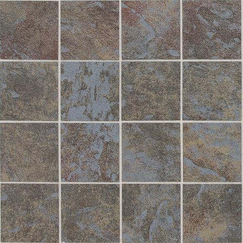 Continental Slate in Tuscan Blue Mosaic 3x3 - Tile by Daltile