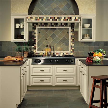 Continental Slate Persian Gold  Mosaic 3X3 CS54