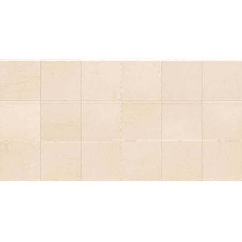 Limestone Adour Creme - 12X12 Polished
