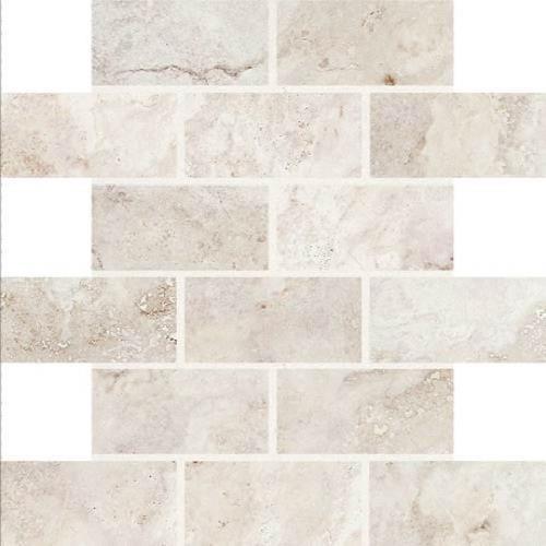 Garden White - 2x4 Mosaic