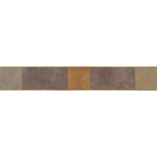 Veranda Solids in Deco A Border 3x20 - Tile by Daltile