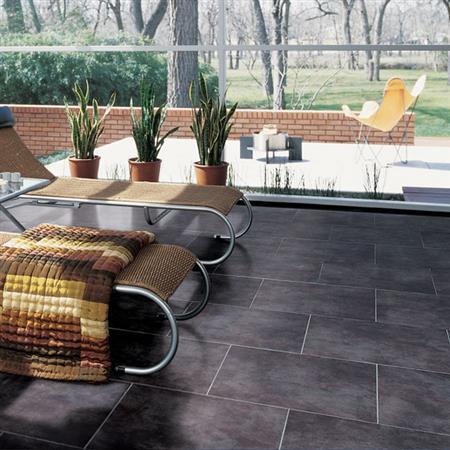 Veranda Solids Gravel 65X65 P501 1
