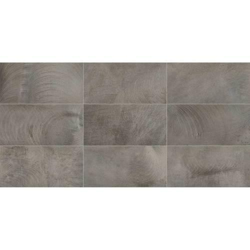 Dal Tile Ironcraft Charcoal Grey 12x24 Ceramic Porcelain Tile