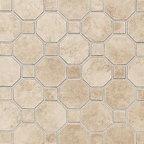 Salerno Cremona Caffe Octagon  Dot Mosaic 2X2 SL82
