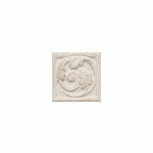 Salerno Grigio Perla Floral Insert/Accent 3 X 3 3X3 SL84
