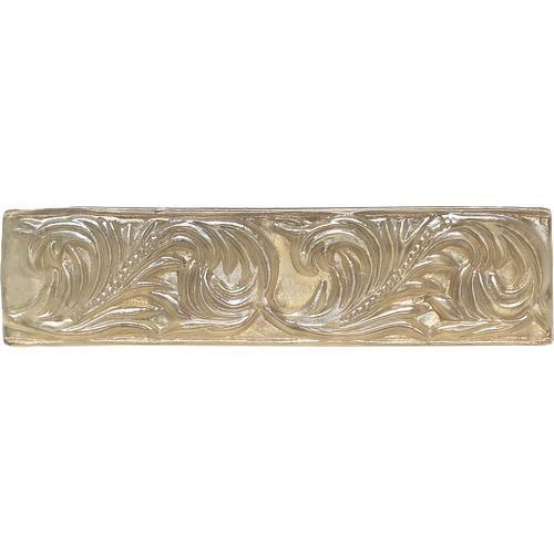 Salerno Universal Smoky Topaz Glass Wall Accent  3 X 10 3X10 SL86