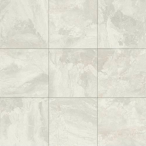 Dal Tile Marble Falls White Water 18x18 Ceramic Porcelain Tile
