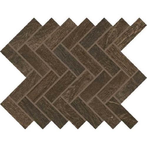 Woodbridge in Chestnut   Mosaic - Tile by Daltile