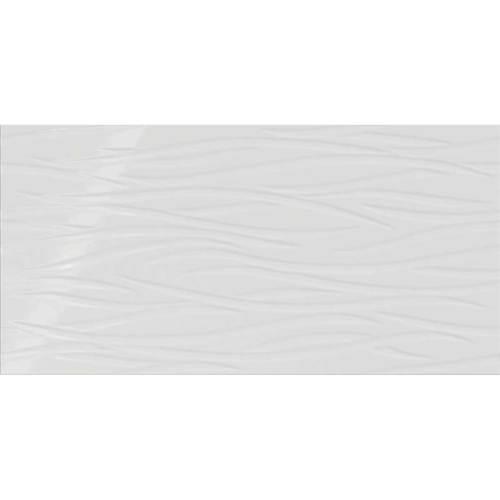 Stylish White Brushstroke 12x24
