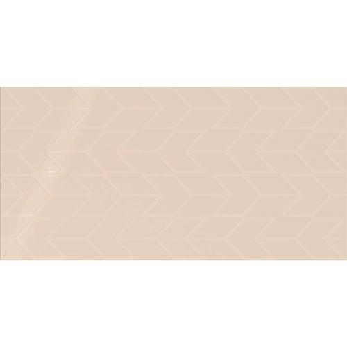 Showscape Almond Chevron 12X24 SH10 1