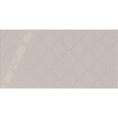 Soft Gray Arabesque 12x24