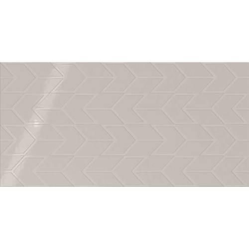 Soft Gray Chevron 12x24