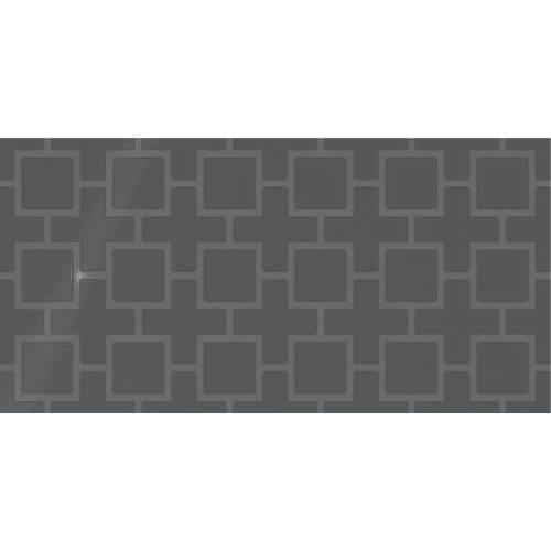 Showscape Deep Gray Square Lattice 12X24 SH12 1