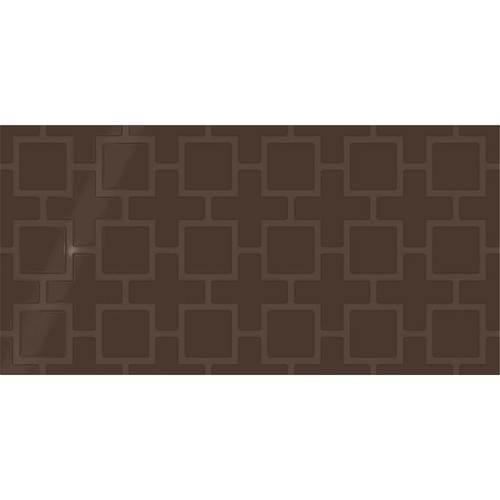 Showscape Cocoa Square Lattice 12X24 SH13 1