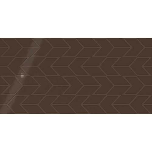 Cocoa Chevron 12x24