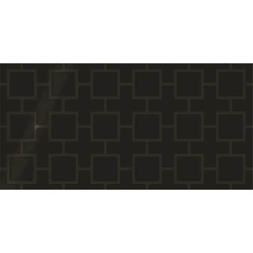 Showscape Black Square Lattice 12X24 SH14 2