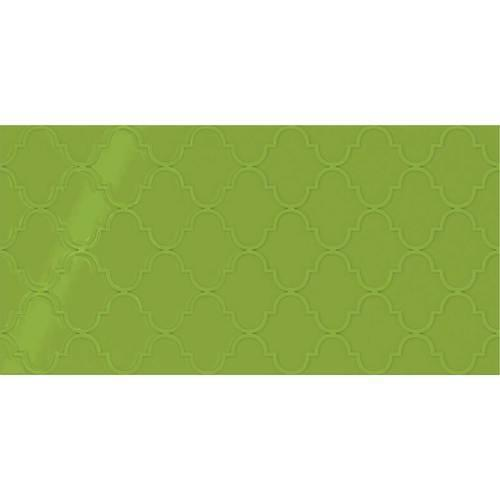 Showscape Vivid Green Arabesque 12X24 SH15 2