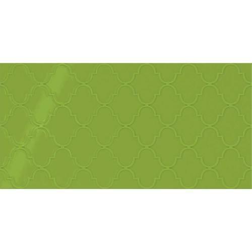 Vivid Green Arabesque 12x24