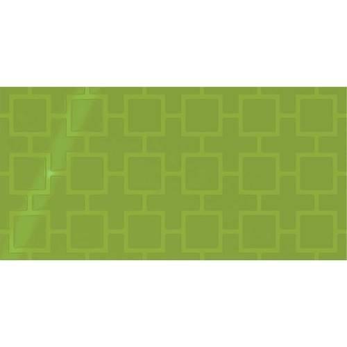Vivid Green Square Lattice 12x24