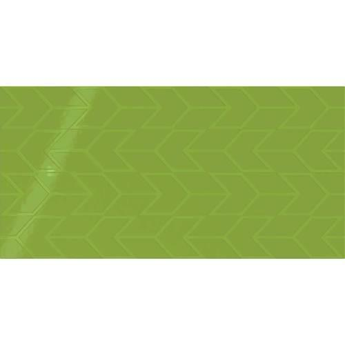 Showscape Vivid Green Chevron 12X24 SH15 2