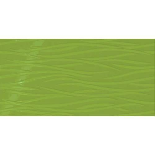Vivid Green Brushstroke 12x24