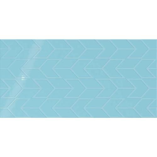 Showscape Crisp Blue Chevron 12X24 SH16 2