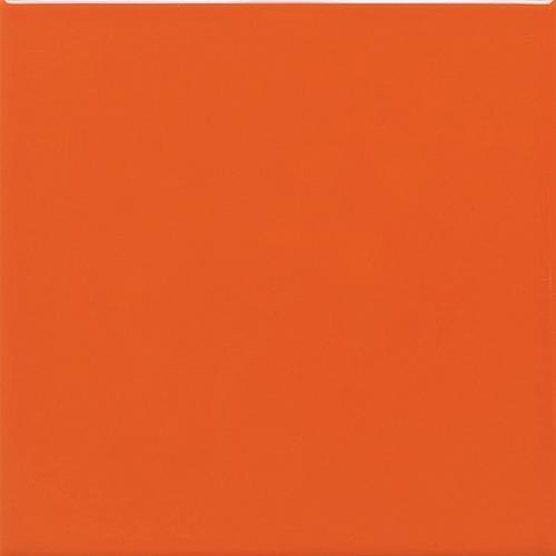 Semi Gloss in Orange Burst (4) 4x4 - Tile by Daltile