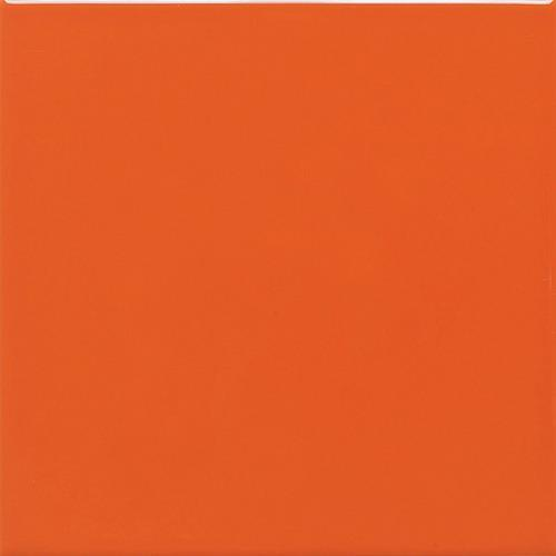 Semi Gloss in Orange Burst (4) 6x6 - Tile by Daltile